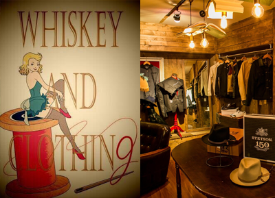 WHISKEY and CLOTHING